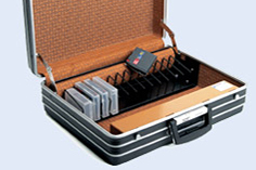 SAT-DATA - Electronic Security Briefcase for EDP Carriers and Documents